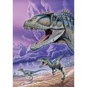 Carcharodontosaurus, Dinosaurier Poster von Fabio Pastori