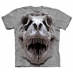 T-Rex Schädel, Dinosaurier T-Shirt The Mountain