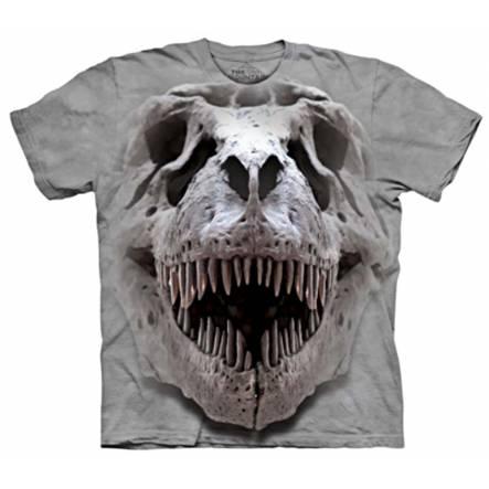T-Rex Schädel, Dinosaurier T-Shirt The Mountain