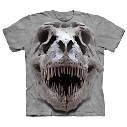 T-Rex Skull, Dinosaur T-Shirt by The Mountain