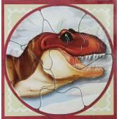 Magnetic T-Rex Puzzle