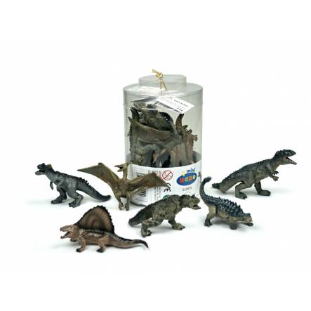 Dinosaurier Mini-Figuren, Set 2