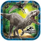 Dinosaur Cardboard Plates - Jurassic World, Dinosaur Party Accessory