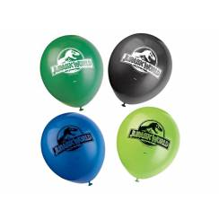 8 Jurassic World Luftballons, Partydekoration