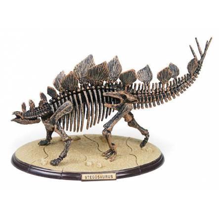 Stegosaurus Skelett, 3-D Dinosaurier Puzzle