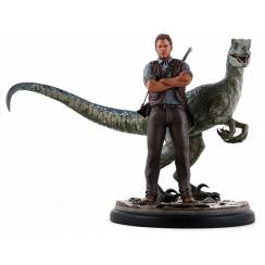 Jurassic World - Owen & Blue, Statue by Chronicle Collectibles