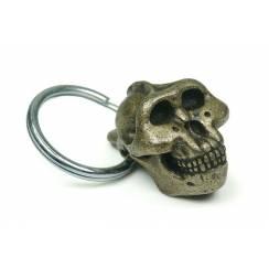 Paranthropus Skull, Prehistoric Man Keychain