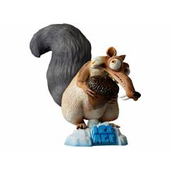 Scrat, sabre-toothed Squirrel, Ice Age Figure, larger than life, by Studio Oxmox