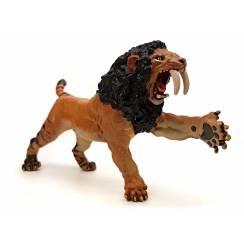Smilodon brüllend, Säbelzahnkatze Spielzeug von Papo