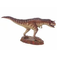Carnotaurus 'Crimson King', Dinosaurier Modell von Rebor
