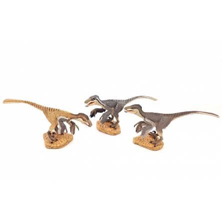 Deinonychus pack 'Cerberus Clan', by Rebor