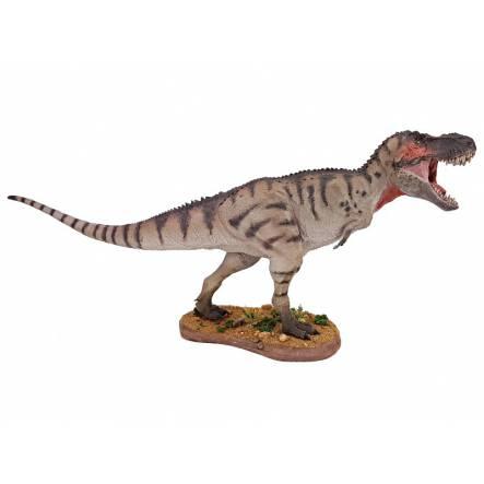 T-Rex grau, Dinosaurier Modell