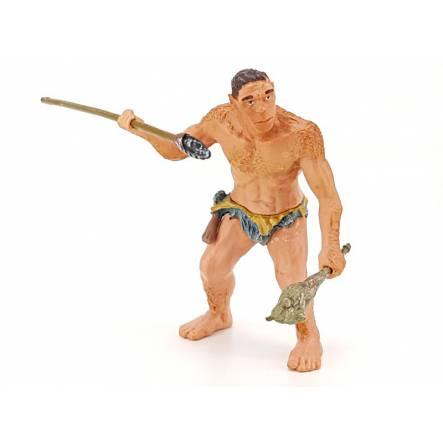 Neandertaler mit Speer, Urzeit Papo Spielzeug