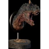 Carnotaurus, Dinosaurier Büste - grün - von Damtoys