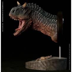 Carnotaurus Bust - green