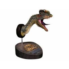 Dilophosaurus Büste - grün