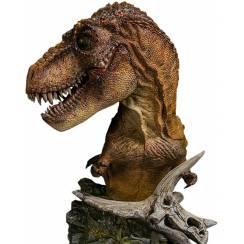 T. rex Bust - green
