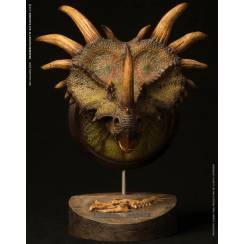 Styracosaurus Bust - green
