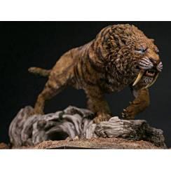 Smilodon fatalis, Wüste - Modell