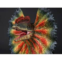 Dilophosaurus with neck frill, Bust - Version 2