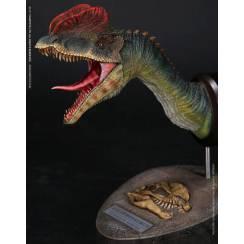 Dilophosaurus, Dinosaurier Büste - Version 1 - von Damtoys