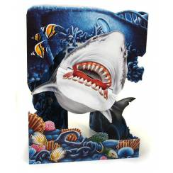 Megalodon Swing Card, Party Accessory