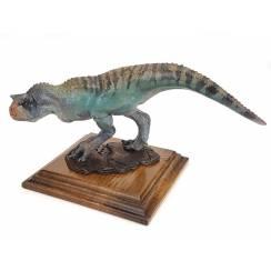 Carnotaurus grün, Dinosaurier Modell