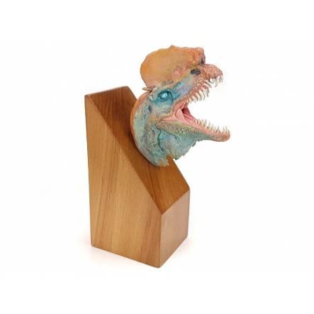 Dilophosaurus, Dinosaurier Kopf-Modell