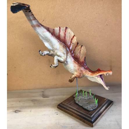 Spinosaurus rot-braun, Dinosaurier Modell