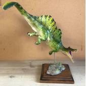 Spinosaurus grün, Dinosaurier Modell