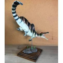 Spinosaurus gestreift 2, Dinosaurier Modell