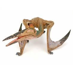 Quetzalcoatlus gehend, Flugsaurier Spielzeug von Papo