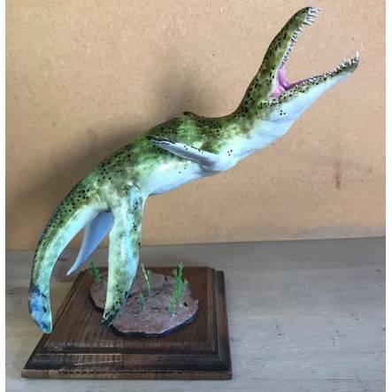 Liopleurodon blue-grey, Marine Reptile Model