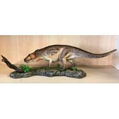 Postosuchus, Archosaurier Modell, braun