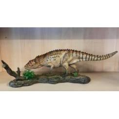 Postosuchus, Archosaurier Modell, warm-braun