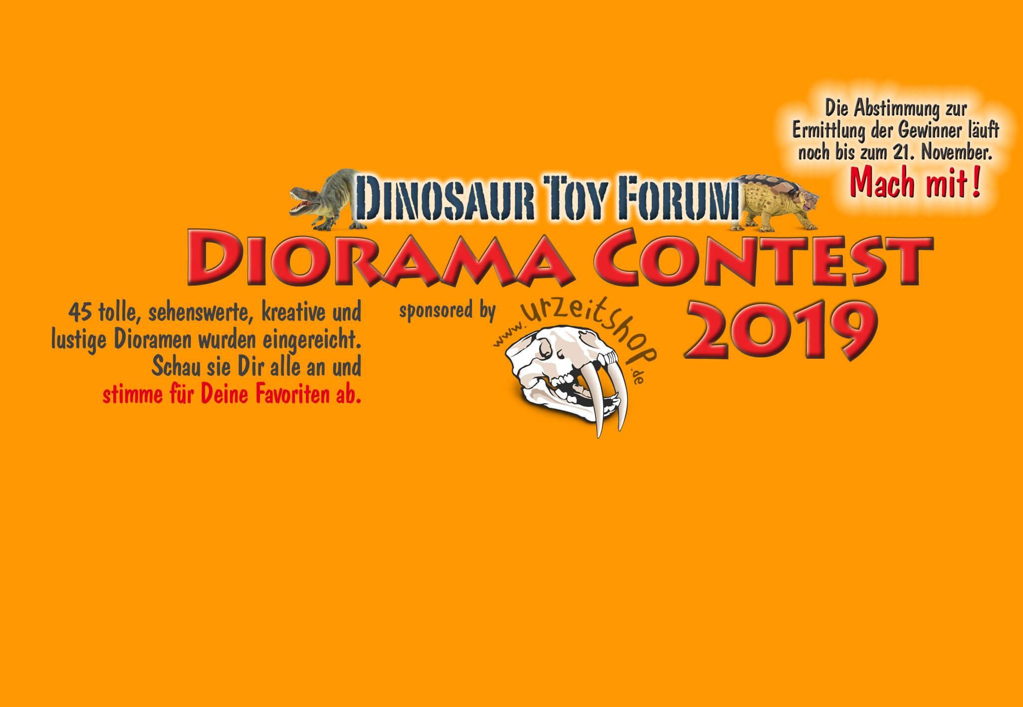 Diorama-Wettbewerb Abstimmung